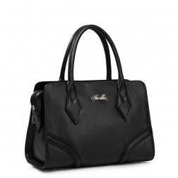 NUCELLE Genuine leather handbag blue