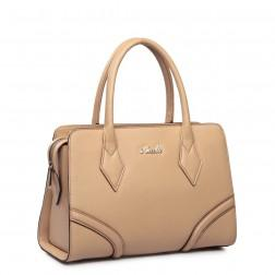 NUCELLE Women's leather handbag orange