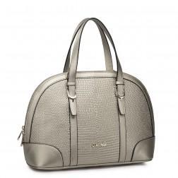 NUCELLE Fashion leather handbag brown