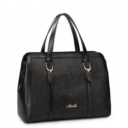 Women's elegant handbag red
