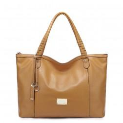 NUCELLE Genuine leather stylish bag blue