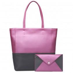 Fashion lady leather tote bag ello