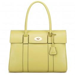 Lady handbag yellow