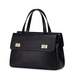 Pragmatism series large capacity handbag beige