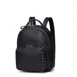 Tender feelings rivet series Korea style mini backpack Pink